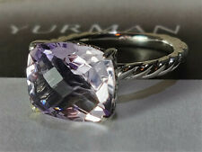 David Yurman Color Classics Ring with Lavender Amethyst, Size 6.5