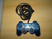 Official Sony Playstation 2 PS2 Dual Shock  Blue Controller