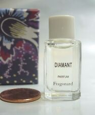 WOMENS FRAGONARD DIAMANT PERFUME PARFUM 2 ML VANITY BOTTLE ORANGE PEPPER ROSE