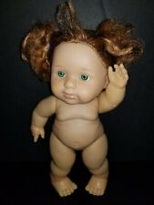 """Berenguer 9.5"""" Lots to Love Baby Steps Chubby Doll Red Hair Toddler"""