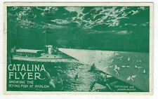 1914 Catalina Island Flyer Excursion Co. Pan Pacific Exposition 1915 pm postcard