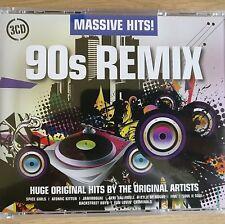 3CD NEW - MASSIVE HITS - 90's REMIX - Pop Music 3x CD Album  Spice Girls Five