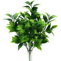 GI- 1Pc Artificial Leaf Branch Foliage Plant Bonsai DIY Party Holiday Home Decor