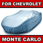 Fits [CHEVY MONTE CARLO] CAR COVER ☑� All Weather ☑� 100% Waterproof ✔CUSTOM✔FIT  for sale