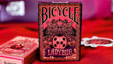 Limited Edition Bicycle Ladybug (Black) Playing Cards Deck Brand New