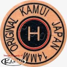 1 Kamui Brown Hard Pool Cue Tip-New Red Ring (Hard=H) Free Shipping!