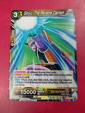 DRAGONBALL SUPER CARD GAME GINYU, THE RELIABLE CAPTAIN MINT P-019 PR