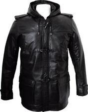 Cappotti e giacche da uomo nera lunga con cappuccio