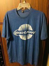 BudLight Basketball t-shirt blue size XL