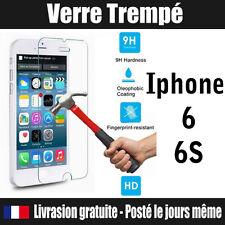 Vitre en VERRE Trempé iphone 6 6S film protecteur écran incassable ANTI CHOC 9H
