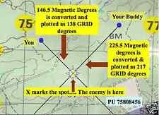 PLGR GPS & LAND NAVIGATION MAP READING Presentation CD