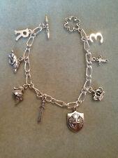 Handmade King Richard III of England Story Charm Bracelet