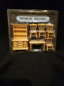 """Vintage Townsquare Miniatures """"Dining Room """""""