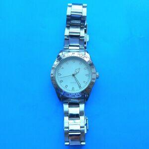 Solid Men's Wrist Watch, Quartz, Good Metal Armband, Good Function