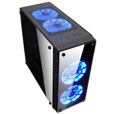 XIGMATEK Streamliner Window Tower ATX Custodia Nera RGB PANNELLO ANTERIORE 2x USB3.0