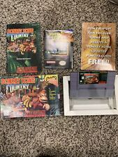 Donkey Kong Country (SNES, 1994) Complete Really Good Shape!