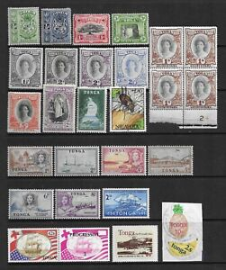 Collection of mint Toga/Tonga stamps.