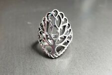 Women's Tree of Life Ring 925 Sterling Silver Size 8.5