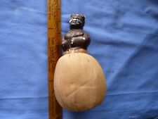 Vintage Large Black Mama Sewing Needle Figure with Pin Cushion Body