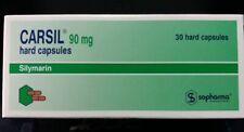 Sopharma Carsil 90mg 30 caps. - Silymarin - Natural Detox and Liver Protection