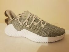 Adidas Mens AlphaBOUNCE Trainer Grey & white  D96705 Size UK 10.5 US 11 New 2019