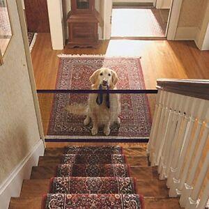 2020 Portable Magic Gate Folding Safety Guard Mesh Magic Net for Pets Dog Cat