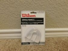 Brand new in the package Wilson Single Density Clear Mouth Guard