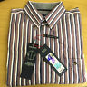 EX-M&S PURE COTTON BLUE HARBOUR STRIPE AND CHECK SHIRTS PURE COTTON LONG SLEEVE