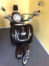 Motorroller EURO 4 mit USB Port Roller 50 ccm 4 Takt  Retro Scooter