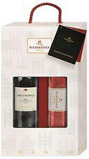 (20,94€ / kg) Niederegger Geschenkpackung Marzipanbrot 300g & Rotwein 0,75l