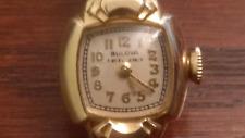 Vintage 14k Gold Bulova Watch ( Working )