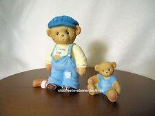 Cherished Teddies I Love Dad, Dad Loves Me - Boy 2004 Nib