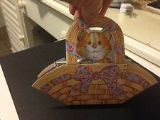 suzys zoo easter basket & paper sheets