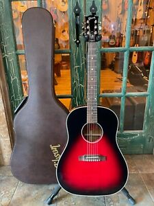 Gibson Limited Edition Slash J-45 Acoustic Guitar - Vermillion Burst w/ OHSC
