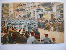 """CPA """"Salonique - Place de la liberté - Concert"""""""
