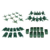 40 PCS Military Vehicles Model Playset Soldier Army Men Toy Accessories