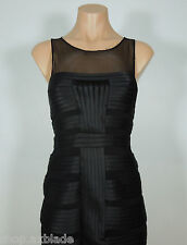 CACHE Black Bodycon Cocktail Dress size 2