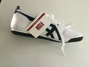 New in Box ASICS Onitsuka Tiger Ultimate 81 White/Navy/Red - Men's 10.5