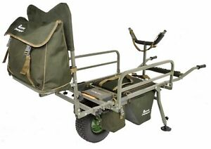 PRESTIGE CARP PORTER NEW 2021 MK2 FAT BOY DELUXE BARROW NOW WITH DROP IN BAG