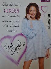 Martina Stoessel-AUTOGRAFO carta-autograph Cansino AUTOGRAFO skinning raccolta