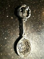 "FRANKLIN MINT Pewter Collector Spoon ""White Rock Water"" Vintage"