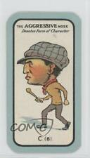 1927 Carreras Game Small #C.(8) The Aggresive Nose Non-Sports Card 1x2