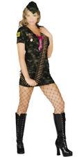 Déguisements robes vert militaire pour femme