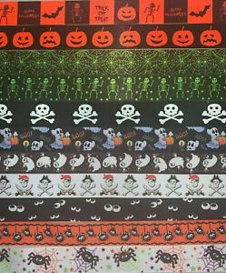 HANDMADE DOG LEAD 25mm width - HALLOWEEN -120CM OR 45CM - CAN BE PERSONALISED