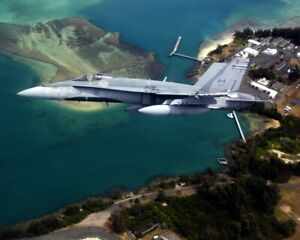 New Photo: Canadian McDonnell Douglas CF-18 Hornet at Pearl Harbor - 6 Sizes!