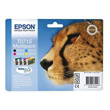 ORIGINALI EPSON T0715 BK C M Y PER Epson Stylus DX5000 DX4400 DX8400 DX7400