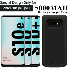 External Power Pack Bank Battery Charger Case for Samsung Galaxy  S10 Plus W4E5