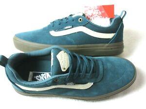 Vans Kyle Walker Pro Mens Skate shoes Dark Gum Green Atlantic Dove Size 12 NWT