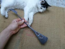 ANTIQUE VINTAGE WROUGHT IRON COOKING SPATULA KITCHEN SCRAPER TOOL