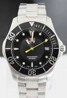 Tag Heuer Aquaracer WAB1110.BA0800 Mens Black Steel Swiss Quartz Wrist Watch